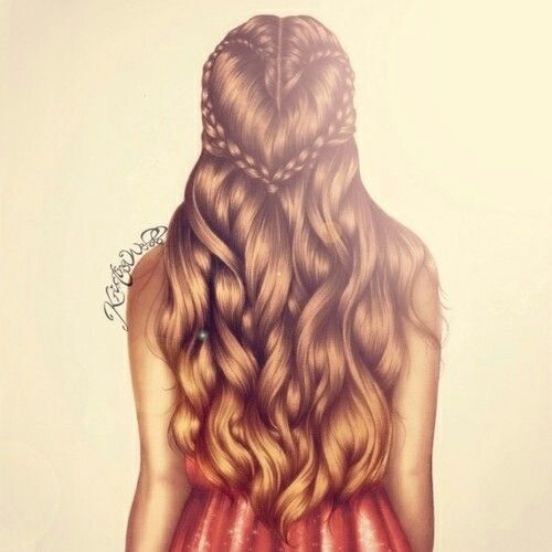 Drawn braid hair colour Drawing Kristina define Pinterest DrawingsKristina