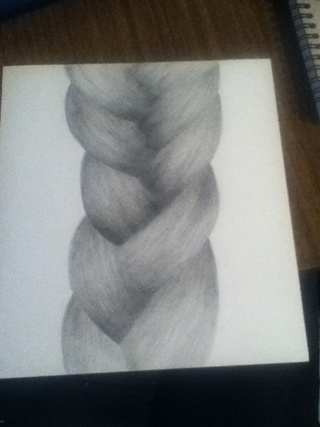 Drawn braid hair plait Pictures PaigeeWorld Some drawings photo
