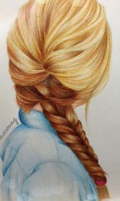 Drawn braid hipster Tutorials on Drawings Drawing how