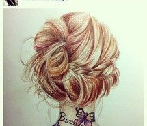 Drawn braid hipster Braid 136 on  Pinterest