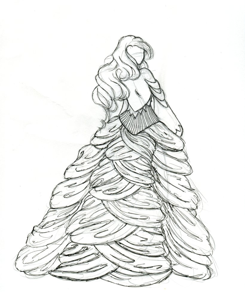 Drawn braid rapunzel By Braid June Malatesta on