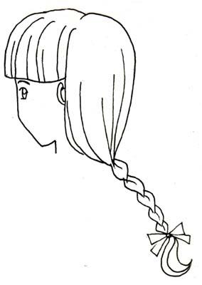 Drawn braid simple Type Braid braid type Ranma