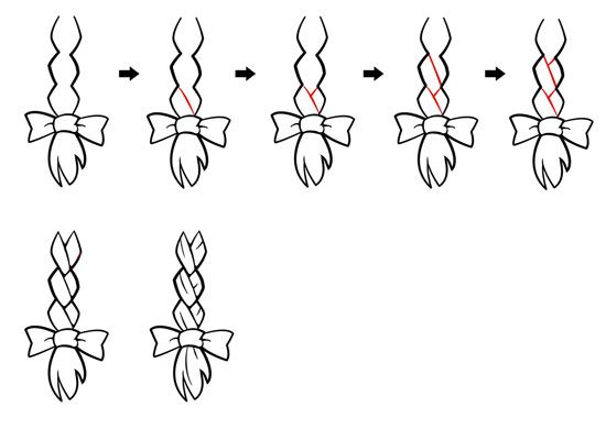 Drawn braid simple This 39 Draw to on