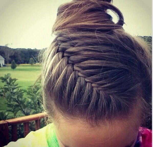 Drawn braid sporty Ideas Sport hairstyles  Pinterest