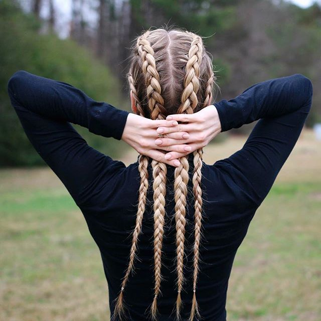 Drawn braid sporty On tutorials ideas  Dutch