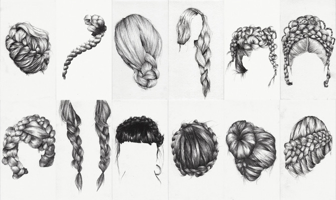 Drawn braid sporty (Ongoing) Study Braid Munns Lauren