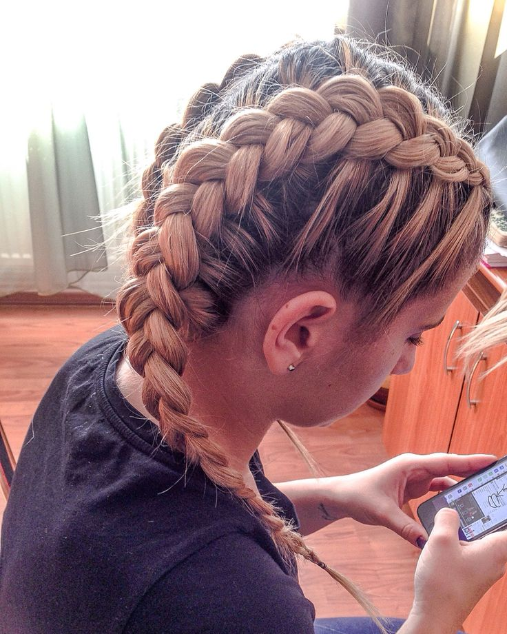Drawn braid sporty 25+ Best braid Double Braids