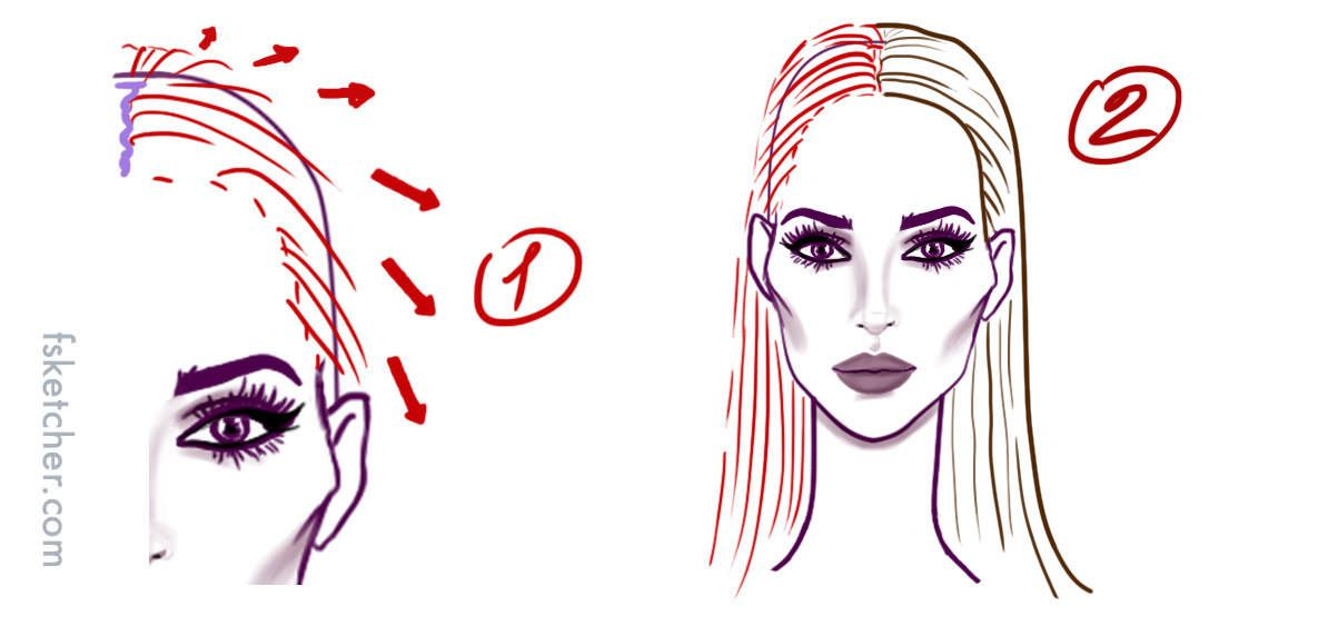 Drawn braid straight hair – HAIRSTYLES HAIR BRAID NO