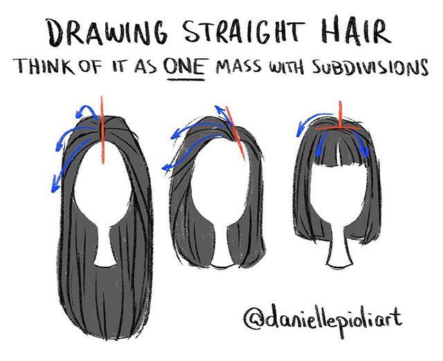 Drawn braid straight hair With straight Quick  Monday