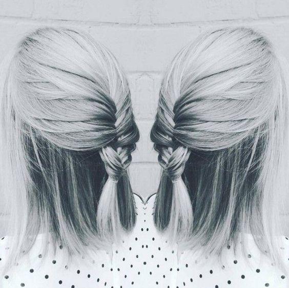 Drawn braid straight hair Hair for Casual Braid Styles