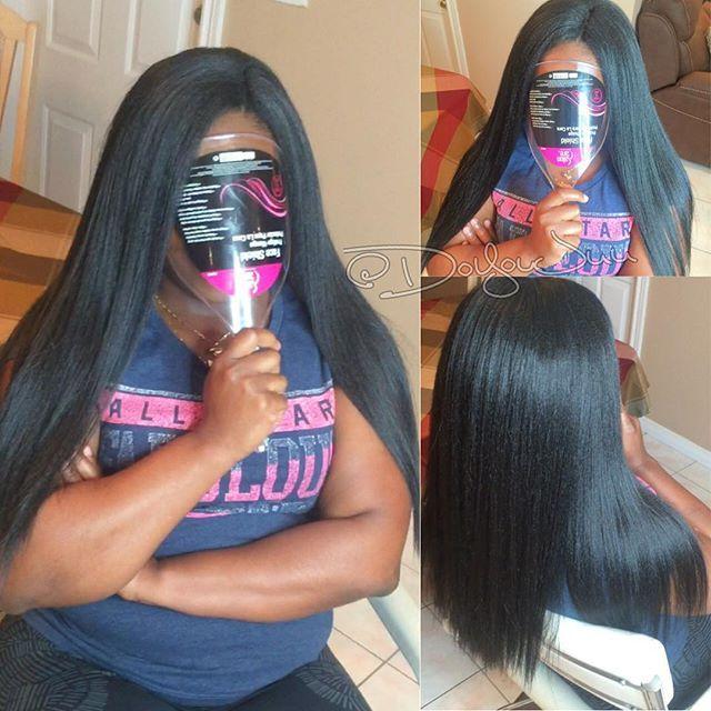 Drawn braid straight hair Light on 25+ braid W/