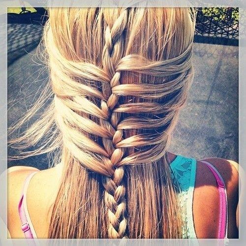 Drawn braid straight hair Hairstyles Haircuts Braided Braided Hair