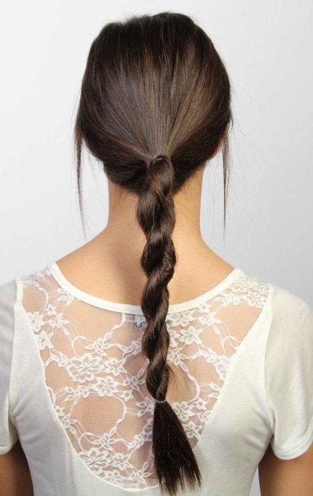 Drawn braid straight hair Ideas Hairstyle Braided Hair for