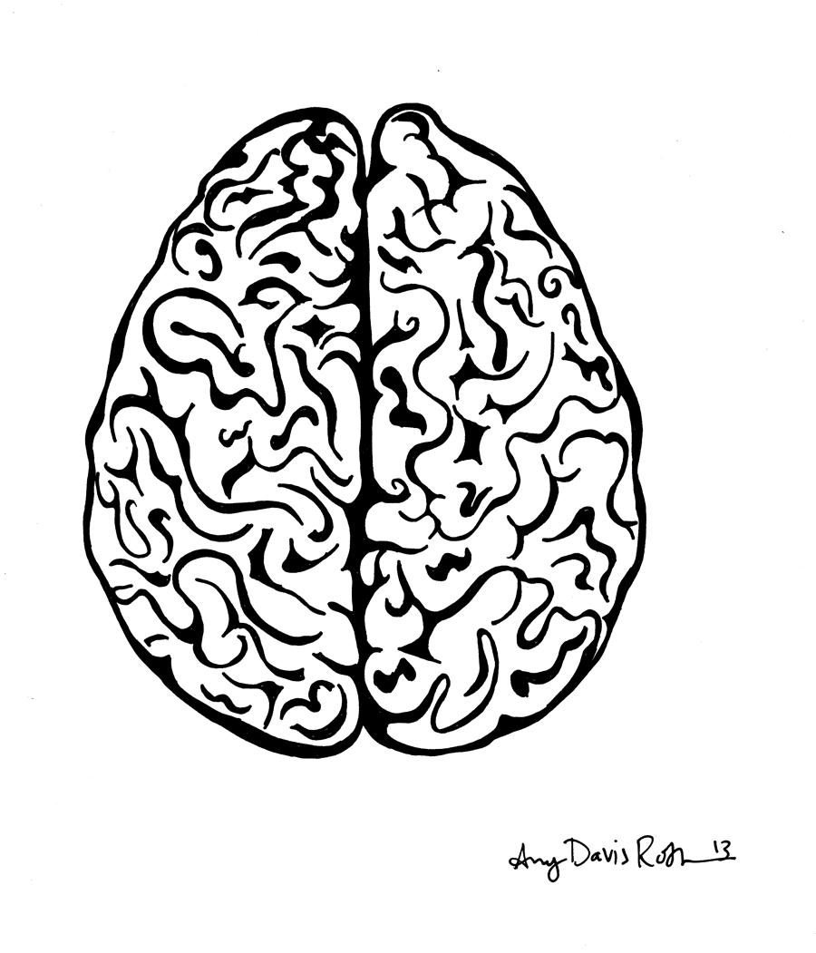 Drawn brain Roth by Mad Brain Davis