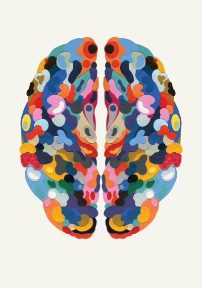 Drawn brain art #7