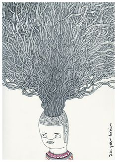Drawn brain art #15