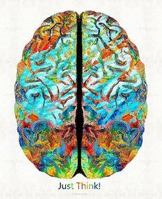 Drawn brain art #12