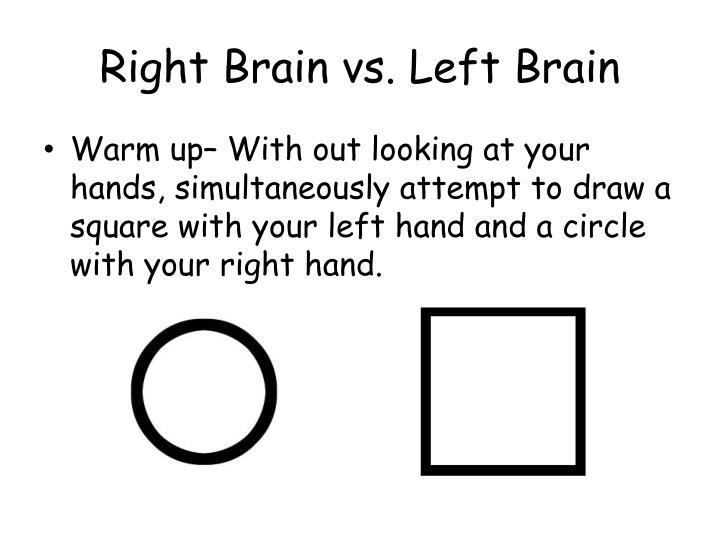 Drawn brain right brain #11