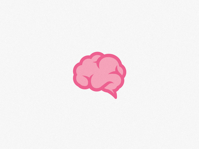 Drawn brain simple #7