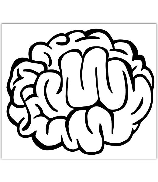 Drawn brains Net Icon Step  2