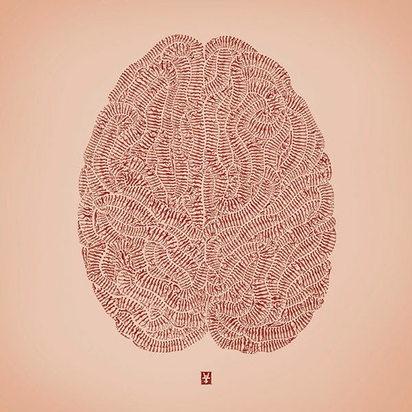 Drawn brain art #13