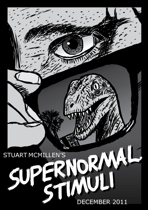 Drawn brains comic Supernormal Vignetta Supernormal reptile McMillen
