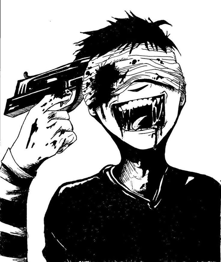Drawn brains comic Johnny blow high homicidal on