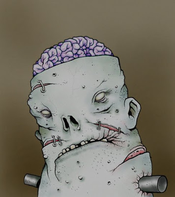 Drawn brains dr frankenstein The from Dr DUCKS: The