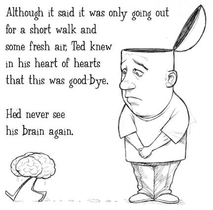 Drawn brains funny cartoon Funny cartoons cartoons draw wha: