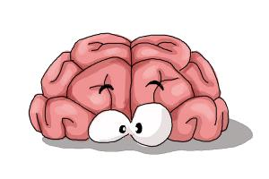 Drawn brains funny cartoon For Draw to How a