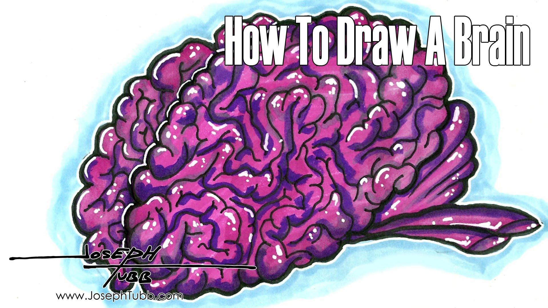 Drawn brains graffiti Brain  To Draw YouTube