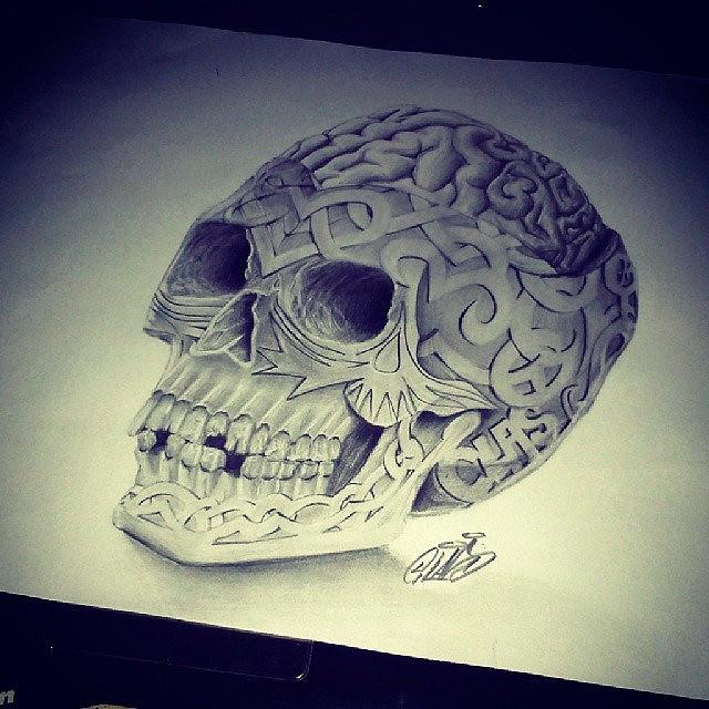 Drawn brains graffiti #graffiti #Sketch #graffiti  #Sketch