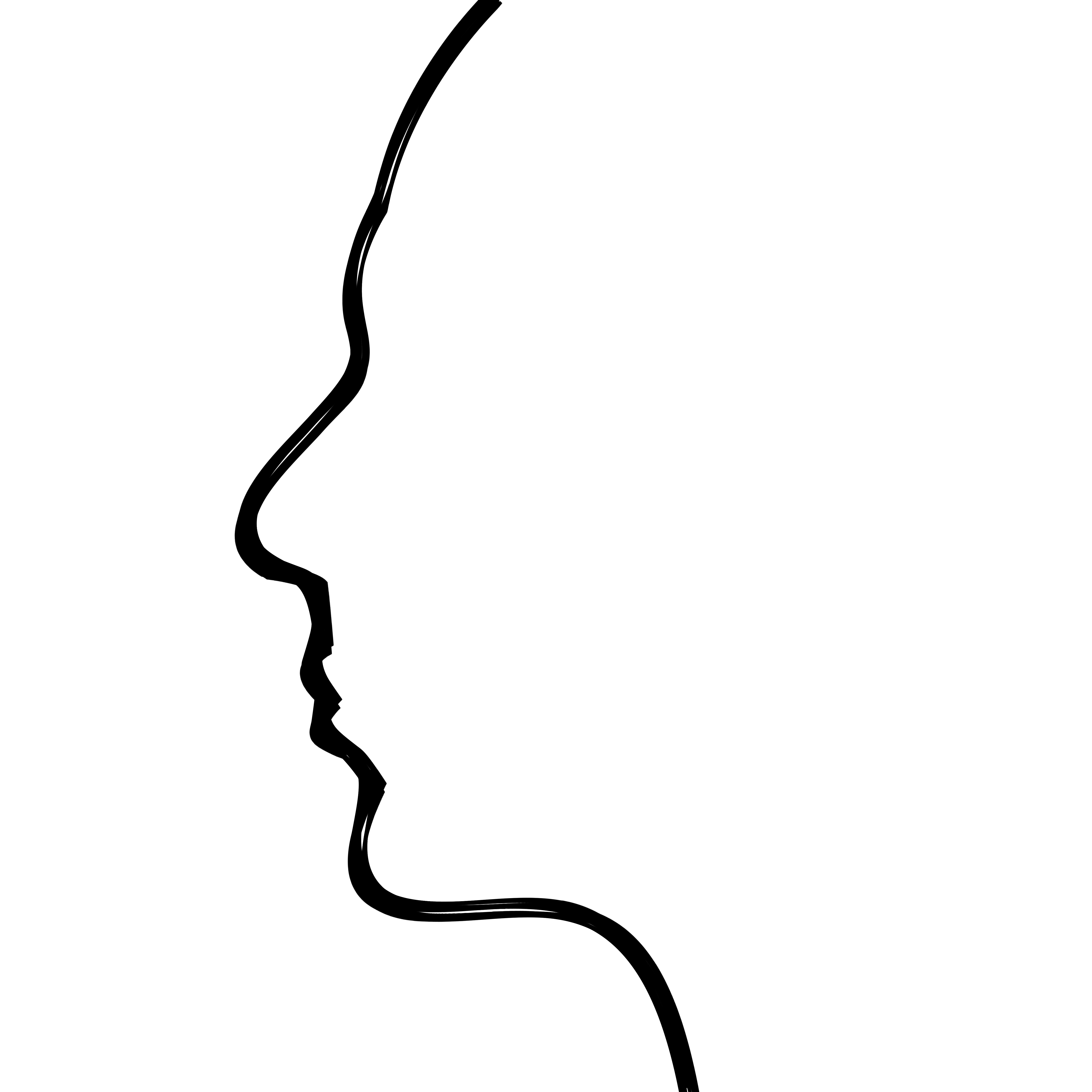 Fear clipart tension man  thought drawing : thought