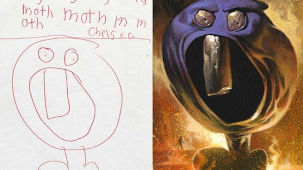 Drawn brain kid Draw Creativity: of Killing Image