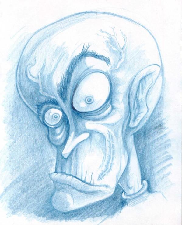 Drawn brain mad scientist Mad Brain Brain Cartoon ❤