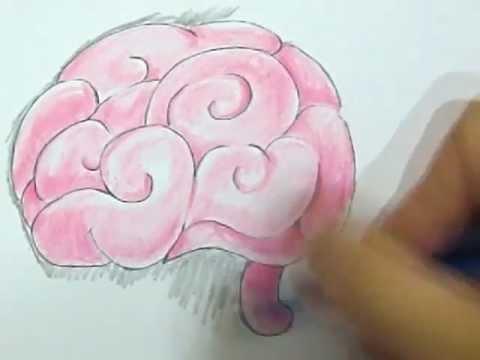 Drawn brains pink brain Zombies from vs musicchu? Plants