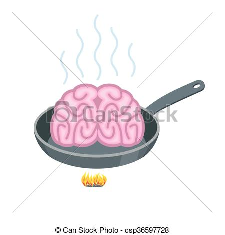 Drawn brains pink brain Pink in Fry Fry Brain