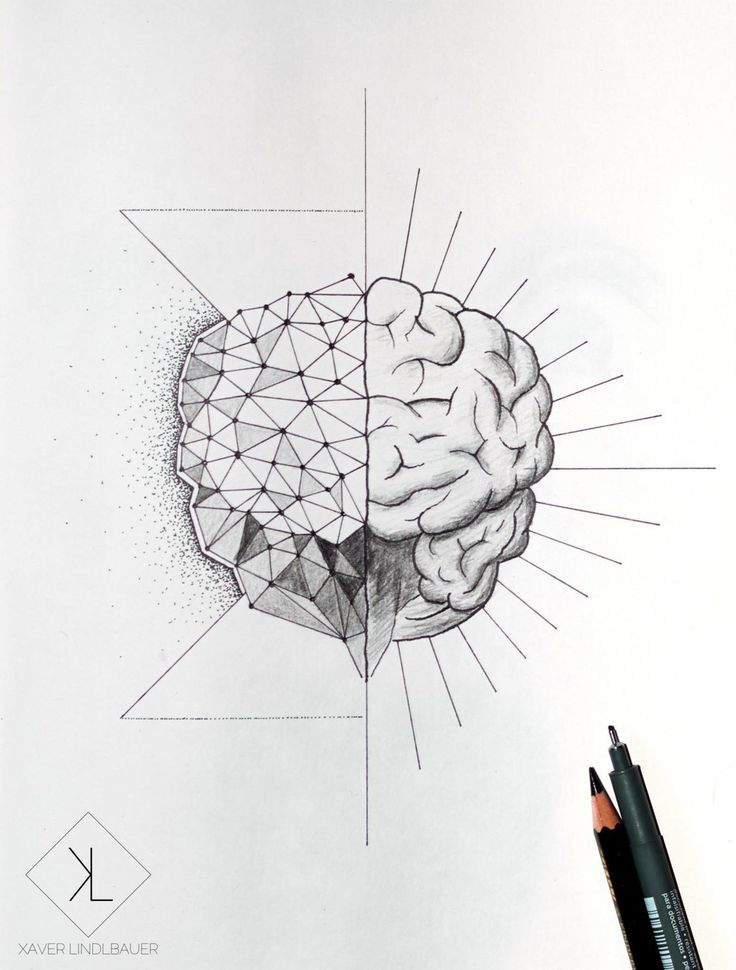 Drawn brains simple Zoeken Brain about Tattoos Google