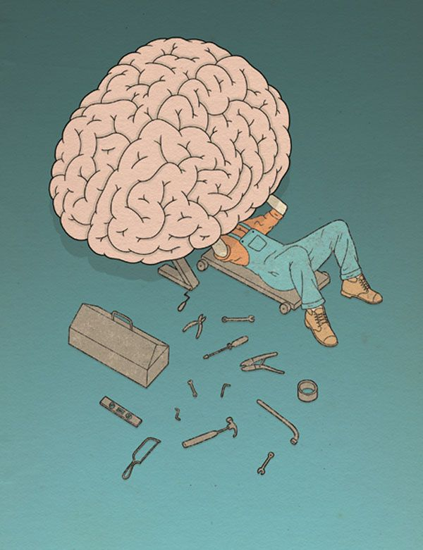 Drawn brains simple Google illustration ideas Căutare illustration