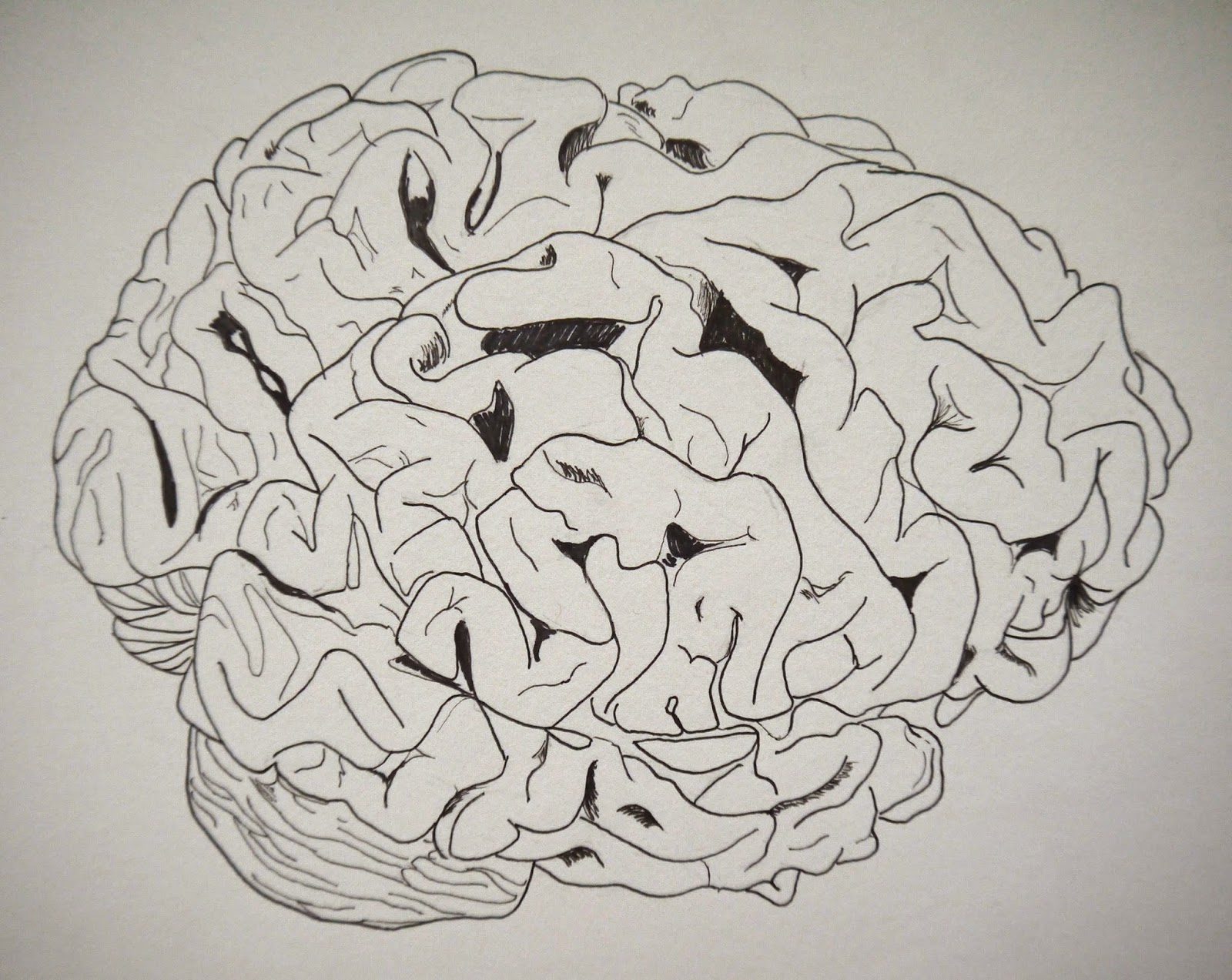 Drawn brains sketched Drawing brain the Postcognitive Topics: