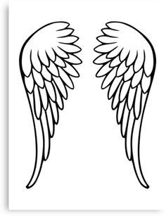 Drawn angel big wing And draw Crafts Pinterest