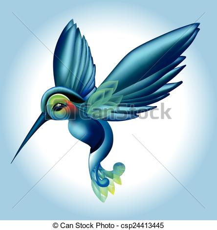 Drawn brds tropical bird Green blue Tropical Tropical with