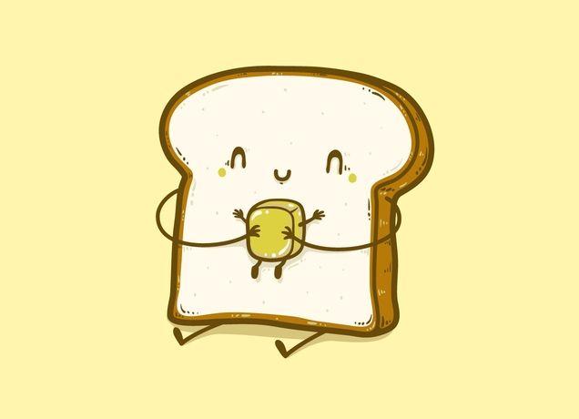 Bread clipart kawaii T world shirts in com