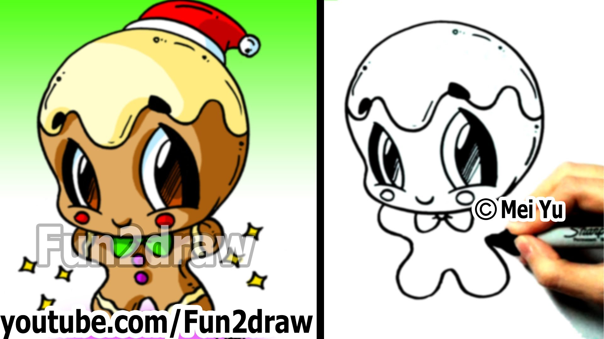 Drawn puppy fun christmas To Draw Draw Art Pictures