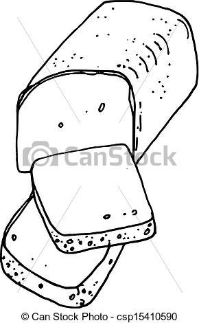 Bread clipart drawn Drawn (vector) Vectors hand