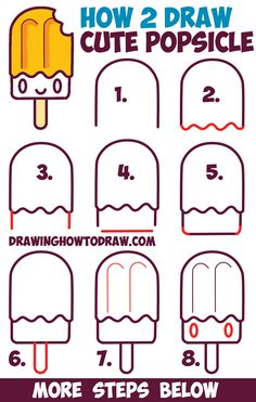 Drawn pineapple Popsicle Slice by to Easy
