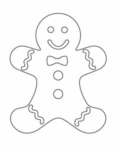 Gingerbread clipart cut out Pages of Coloring moon coloring
