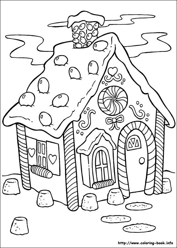 Drawn hosue colouring book House 468 Pinterest page Ginger