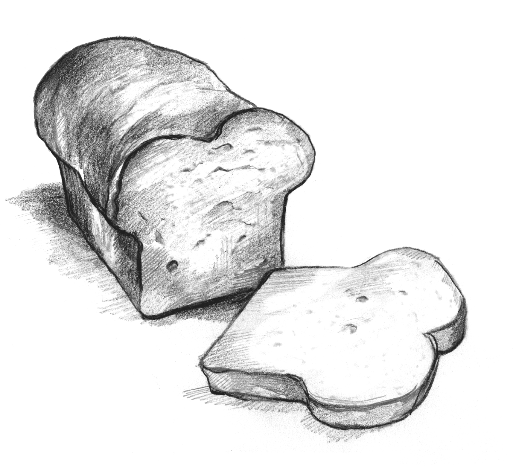 Drawn bread loaf bread Archived: Library No NIDDK Image