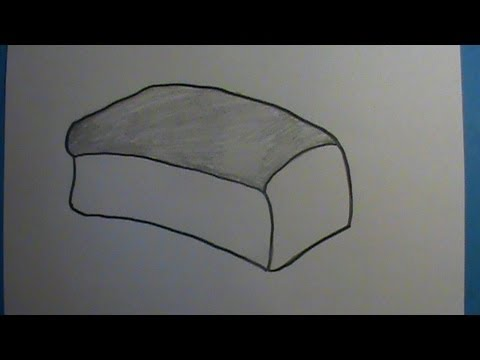 Drawn bread loaf bread Bread How YouTube Loaf How